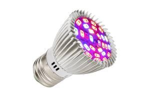 Фитолампа для растений светодиодная UKC E27 28 LED 8 Вт