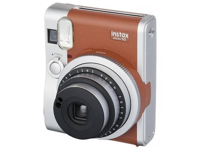 продам Камера моментальной печати Fujifilm Instax Mini 90 Instant camera Brown EX D (16423981) бу в Києві