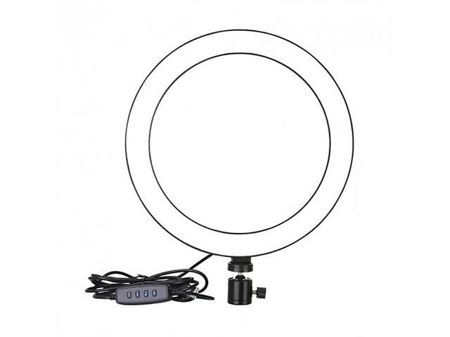 бу Кольцевая светодиодная LED лампа селфи-кольцо кольцевой свет без держателя для телефона USB 20 см (par_LL 20) в Киеве