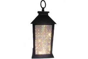 Лампа фонарь с подсветкой Stenson R28324 13 х 13 х 28 см Kronos (gr_010249)
