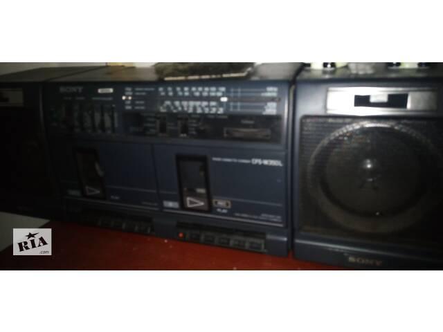 Магнитола Sony стерео в рабочем состоянии- объявление о продаже  в Киеве