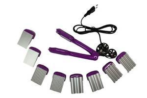 Мультистайлер праску - плойка - гофре 4 в 1 для волосся з насадками Livstar 4041 стайлер для завивки випрямляч