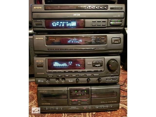 купить бу Музыкальный центр Aiwa Z-D3200M Блочная конструкция Сделано в Японии! в Киеве