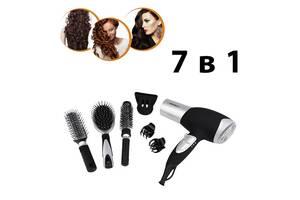 Набор для укладки волос с феном Pritech 7in1 LD6071