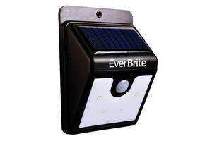 Настенный уличный светильник Ever Brite с датчиком движения на солнечной панели (hub_QjMl13329)