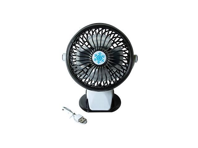 продам Настольный мини-вентилятор ML F168 Черный бу в Харькове
