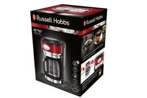Нова кавоварка Russell Hobbs Retro Ribbon Red