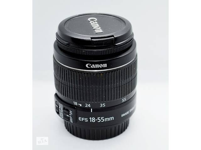 Объектив Canon zoom lens EF-S 18-55mm f: 3.5-5.6 IS II- объявление о продаже  в Черновцах