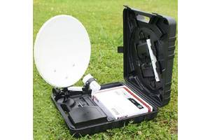 Портативний Супутниковий Комплект у валізі
