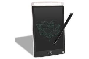 """Планшет для малювання дитячий Writing Tablet LCD 8.5"""" білий"""