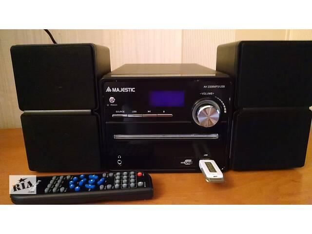 бу Продам домашняя аудиосистема Majestic AH-2336 MP3 USB. Состояние нового в Луцке