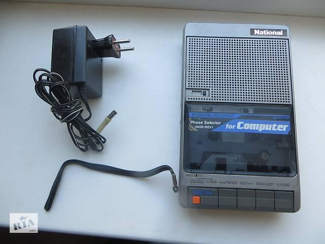 купить бу Продам портативний касетний магнітофон National Panasonic. в Дніпрі (Дніпропетровськ)