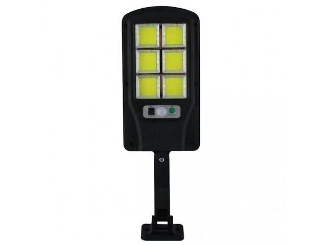 продам Прожектор уличный Solar Light BK-120-6COB c пультом Черный бу в Киеве