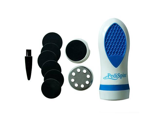 Электрическая роликовая пилка пемза для пяток Pedi Spin электропилка для педикюра- объявление о продаже  в Харкові
