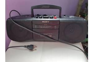Радіомагнітола Sony CFS-B21L + аудіокасети