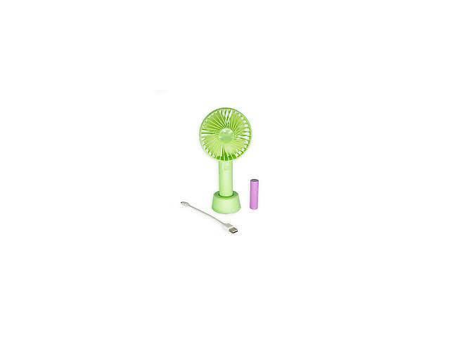 купить бу Ручной бытовой портативный вентилятор Portable Mini Fan SS-2 USB на аккумуляторе с ручкой мини вентилятор в Харькове