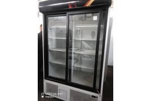 Шкаф холодильный б/у стеклянные двери купе  Техно холод ШХСДД 1,2 Канзас