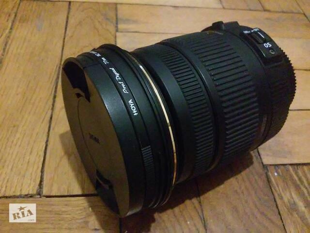 Sigma 17-50 mm 1:2.8 EX HSM для Nikon- объявление о продаже  в Львове
