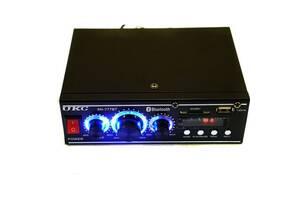 Стереоусилитель UKC AV-777BT Bluetooth усилитель звука для колонок с Bluetooth и пультом управления с FM радио в маши...