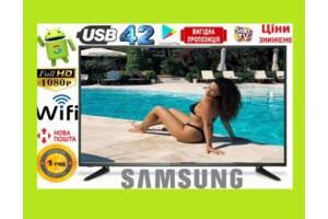 Супер ЦЕНА!Телевизоры 42 Samsung SmartTV LED! , IPTV, T2, WIFI, USB 32