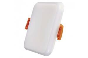 Светодиодная панель EMOS ZV2111 6Вт 400лм 3000K квадратная Белая