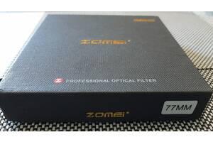 Светофильтр ZOMEI 77 мм ABS ultra slim ND2 - ND400