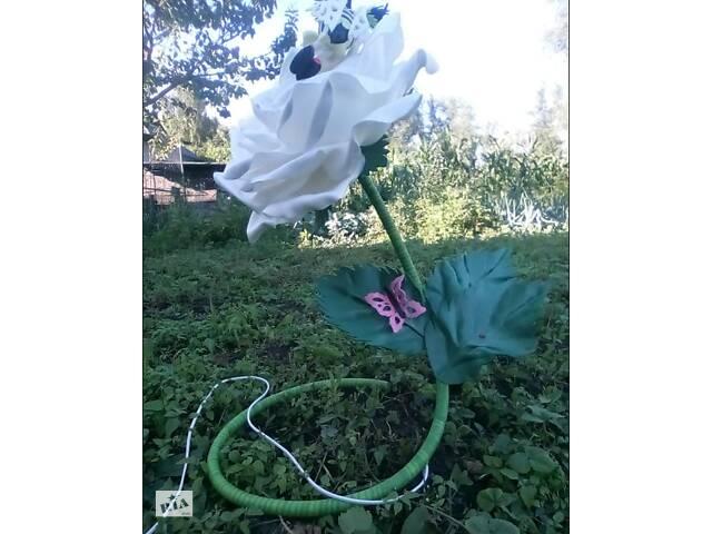 купить бу Світильник з ізолону. Троянда з втомленою бджілкою. в Старій Синяві