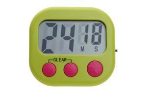 Таймер кухонный цифровой Kronos LM115 с магнитом большие цифры Зеленый (acf_00422)