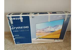 TU8000 Crystal UHD 4K Smart ТВ UE50TU8000UXUA