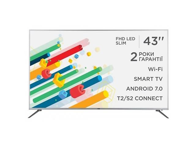 """продам Телевизор 43"""" ERGO LE43CT5515AK SmartTV бу в Василькове"""