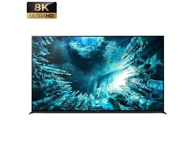 купить бу Телевизор Sony KD-75ZH8 (8K. Процессор X1™ Ultimate 120Гц, полная прямая подсветка, Android TV, 60 Вт) в Луцке