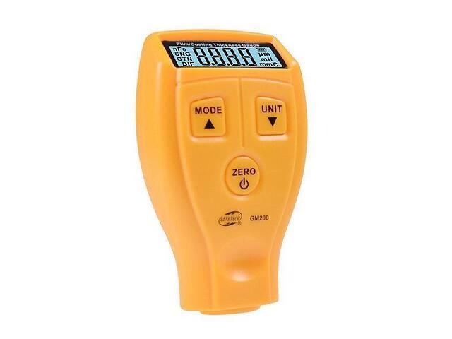 Толщиномер, тестер покрытий, слоя краски 0-1.8мм GM200 GM200A- объявление о продаже   в Украине