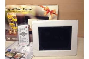 Цифрова фоторамка Transcend PF730 7& quot; White ДУ фото рамка біла