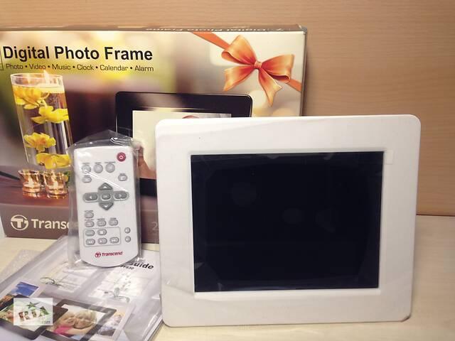 продам Цифрова фоторамка Transcend PF730 7& quot; White ДУ фото рамка біла бу в Києві