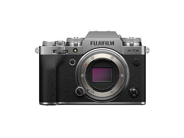 купить бу Цифровой фотоаппарат Fujifilm X-T4 Body Silver (16650601) в Харькове