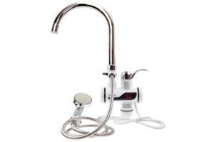 Цифровой кран водонагреватель с душем