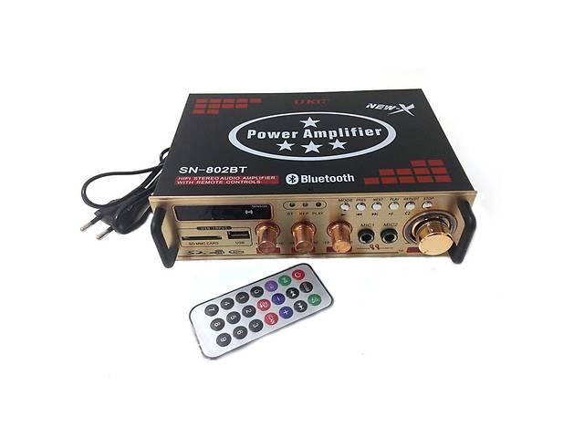 Усилитель звука UKC 802 BT с караоке и Bluetooth (gr_007545)- объявление о продаже  в Киеве