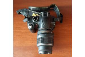 У топ Фотоапарат Nikon D3000 сумка UP-RISE 14Z SD карта 16 GB