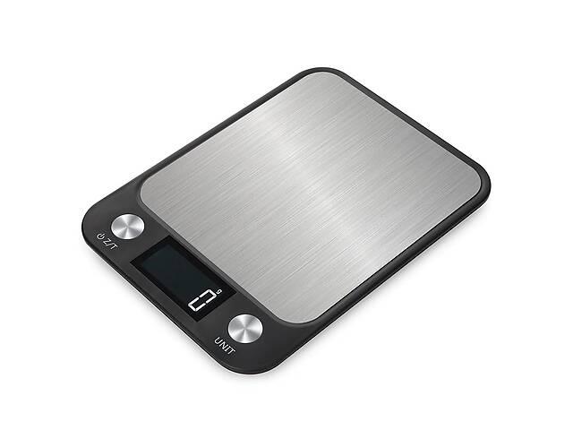 купить бу Ваги кухонні електронні Zally CX 5 кг Чорні в Києві