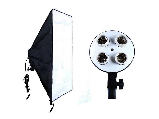 бу Видео софтбокс 50х70 постоянный студийный свет с 4 патронами Е27 в Днепре (Днепропетровск)