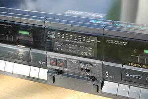 ВСЕГО 300гр !!! Магнитофон  Aiwa AD-WX707