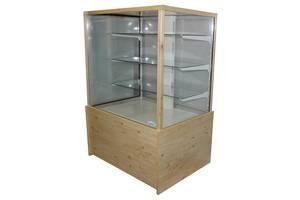 Витрина холодильная кондитерская ДНІПРОторг куб напольная новая