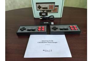Игровая беспроводная консоль HDMI Dendy NES 8бит 568 игр Data Frog Y2 HD