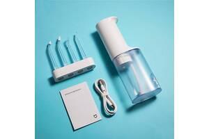 Іригатор Xiaomi Mijia MEO701 Electric Flusher Oral Irrigator (повний комплект, 4 насадки різних типів)
