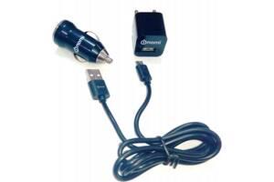 Зарядное устройство Nomi (3 в 1) CK05121 1А Black (170681)