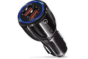 Зарядное устройство XoKo CQC-200 2USB Qualcom 3.0 6A Black (CQC-200-BK)