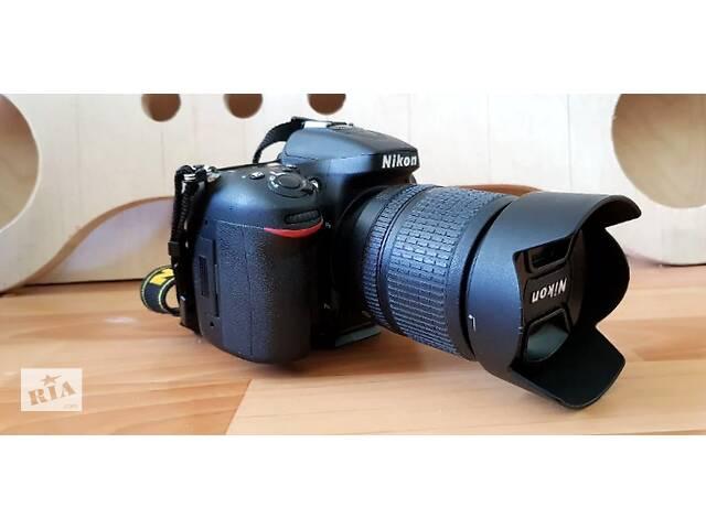 купить бу Дзеркальний фотоапарат Nikon D7100 kit 18-105 в Кам'янець-Подільському