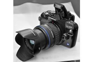Зеркальный Olympus E-400 + объектив