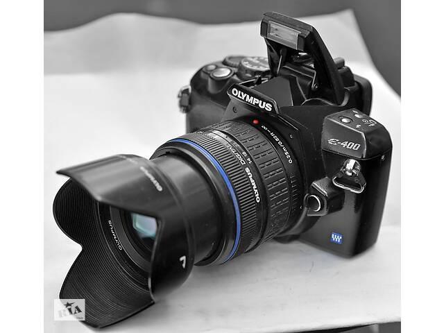 Зеркальный Olympus E-400 + объектив- объявление о продаже  в Хмельницком