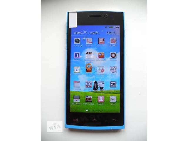 """бу Бюджетный смартфон НТС GT-M7 Blue (экран 4,5"""" Android 4.2.2) Качество! в Запорожье"""